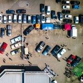 Downtown parking improvements underway