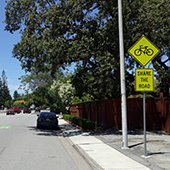 San Mateo County to begin Santa Cruz Avenue lane closure pilot program