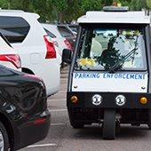 Menlo Park continues to chalk tires for parking enforcement