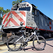 Caltrain and E-Bike