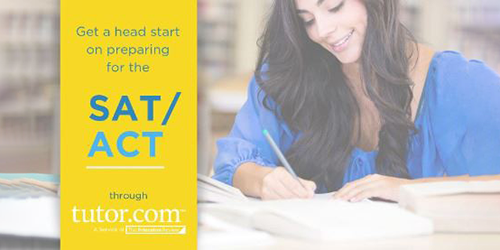Tutor dot com SAT and ACT preparation services